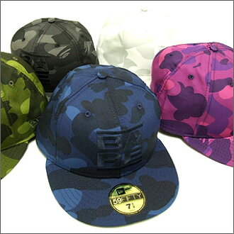 9107b37147e Cliff Edge  A BATHING APE (APE) NewEra COLOR CAMO BAPE logo B... B ...