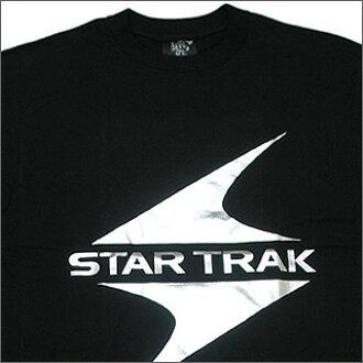 BBC(亿万富翁男孩俱乐部)STAR TRAK箔印刷T恤SILVER