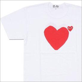 プレイ コムデギャルソン PLAY COMME des GARCONS RED HEART TEE Tシャツ WHITE 200007096040 【新品】