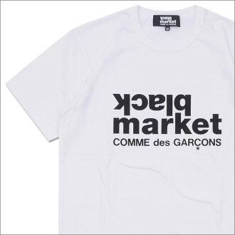 COMME des GARCONS(komudegyaruson)BLACK MARKET LOGO TEE(T恤)WHITE 200-007332-040+