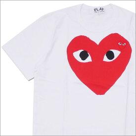 プレイ コムデギャルソン PLAY COMME des GARCONS RED HEART TEE Tシャツ WHITE 200007717050 【新品】