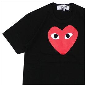 プレイ コムデギャルソン PLAY COMME des GARCONS RED HEART PRINT TEE Tシャツ BLACK 200007735041 【新品】