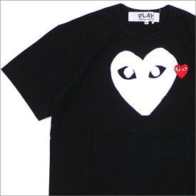 プレイ コムデギャルソン PLAY COMME des GARCONS WHITE HEART RED WAPPEN TEE Tシャツ BLACK 200007734041 【新品】