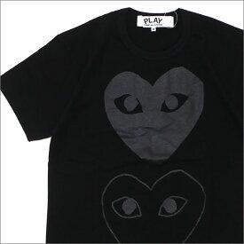 プレイ コムデギャルソン PLAY COMME des GARCONS MEN'S TWO HEART TEE Tシャツ BLACK 200007759041 【新品】
