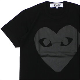 プレイ コムデギャルソン PLAY COMME des GARCONS MEN'S BLACK HEART TEE Tシャツ BLACK 200007901031 【新品】