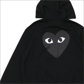 プレイ コムデギャルソン PLAY COMME des GARCONS MEN'S BLACK HEART HOODIE パーカー BLACK 212001023041 【新品】