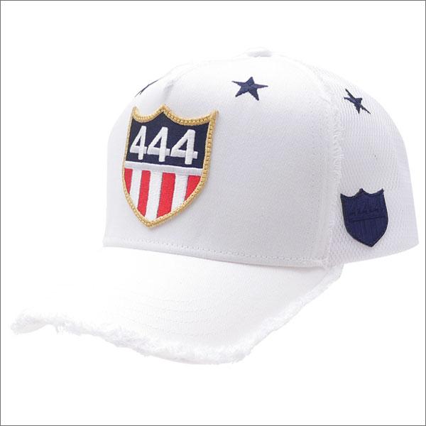 YOSHINORI KOTAKE(ヨシノリコタケ) 444 LOGO STAR MESH CAP (キャップ) WHITE 251-001117-010x【新品】