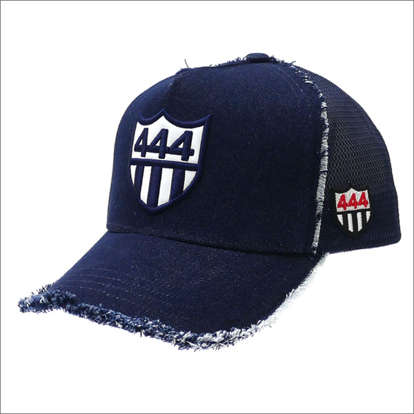 YOSHINORI KOTAKE(ヨシノリコタケ) 444 DENIM MESH CAP (キャップ) INDIGO 251-001169-017x【新品】