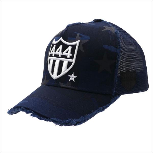 YOSHINORI KOTAKE(ヨシノリコタケ) 444 STAR CAMO MESH CAP (キャップ) NAVY CAMO 251-001194-017x【新品】