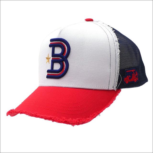 YOSHINORI KOTAKE(ヨシノリコタケ) x BEAMS GOLF(ビームス ゴルフ) B LOGO MESH CAP (キャップ) RED 251-001229-013x【新品】