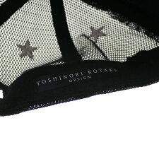 YOSHINORIKOTAKE(ヨシノリコタケ)CAMO7LOGOMESHCAP(キャップ)BLACKCAMO251-001244-011x【新品】