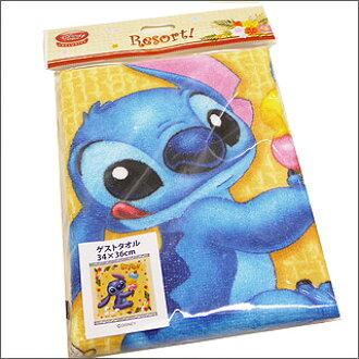 DISNEY STORE(디즈니 스토어) 엔죠이비치스티치게스트타올 BLUE 290-000663-024