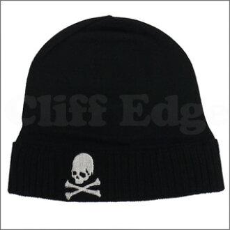 b8556fd9cf0 mastermind JAPAN (mastermind Japan) skull embroidered knit Cap BLACK  254-000171-011 +