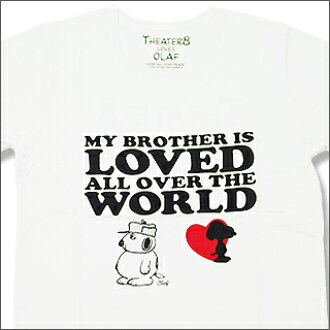 mastermind JAPAN ( master India ) xTHEATER 8 OLAF & Snoopy t-shirts