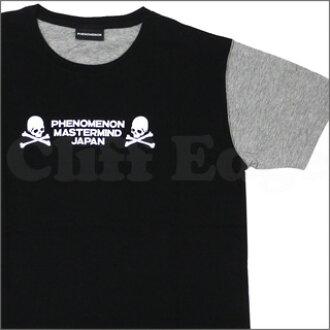 x 现象 (现象) 帕里亚连接 T 恤 BLACKxGRAY 200-004361-031 策划日本 (策划者日本) +