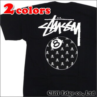 mastermind JAPAN x STUSSY 8 Ball Skull T恤200-005241-040+