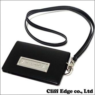 cliff edge mastermind japan x porter card case with strap black 274