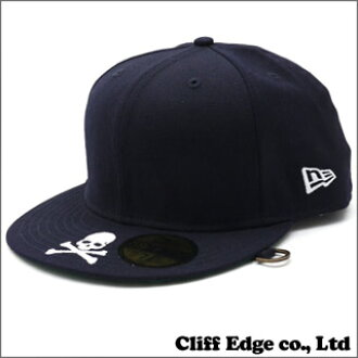 4b8ee605d5a mastermind JAPAN New Era (era) 59FIFTY CAP on CAP NAVY 150-001282-057 +