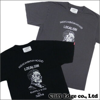 NEIGHBORHOOD LOCALISM T恤BLACK CHARCOAL 200-004464-031-