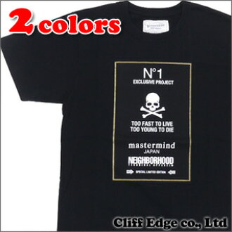 1 NEIGHBORHOOD x mastermind JAPAN NO T-shirt 200-005158 -030