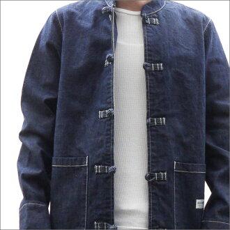 NEIGHBORHOOD (Kung Fu jacket) KF/C-JKT INDIGO 230-000951-037-