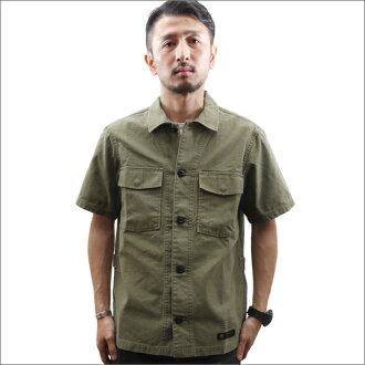 NEIGHBORHOOD(neibafuddo)BDU/C-SHIRT.SS(短袖衬衫)OD 215-001238-045-
