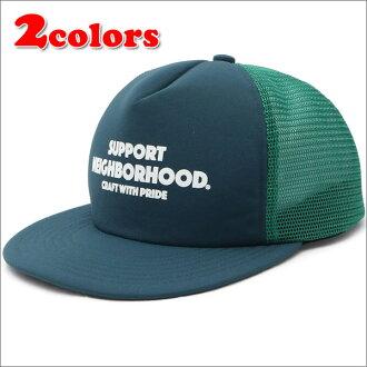 NEIGHBORHOOD (네이버 후드) BAR&SHIELD/ER-CAP (메쉬 캡) 251-001037-011-