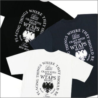 (W) TAPS ( doublethaps ) HERALDRY T shirt 200-002696-047 +