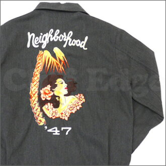NEIGHBORHOOD(neibafuddo)FIXX 47茄克GRAY 228-000044-042-