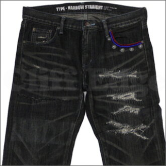 NEIGHBORHOOD ( neighborhood ) POISON SAVAGE NARROW denim BLACK 240-000855-041-