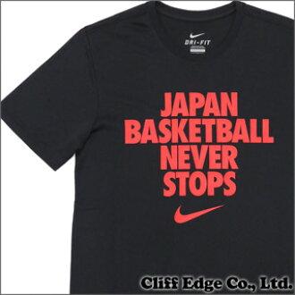 耐克 (Nike) 200-006379-041 黑色日本篮球 TEE (T 恤) +