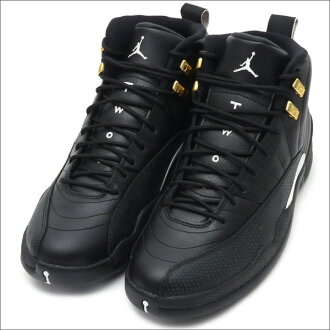 buy popular 67dc6 5e521 NIKE AIR JORDAN 12 RETRO (sneakers) (shoe) BLACK/WHITE-BLACK-MTLLC GOLD  130690-013 291 - 002028 - 281x