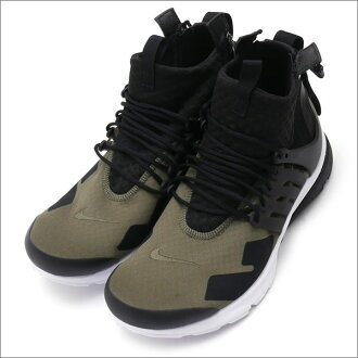 e4e6e8b94b42 NIKE x ACRONYM AIR PRESTO MID ACRONYM (sneakers) (shoes) MED OLIVE BLACK-DUST  844672-200 291 - 002131 - 045 +