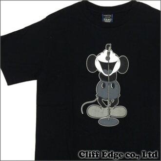NUMBER(N)INE x Disney声乐家米奇T恤BLACKxGRAY 200-005499-042+