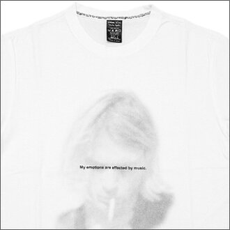 NUMBER(N)INE(号码九)推车·共道路T恤WHITE/NT018
