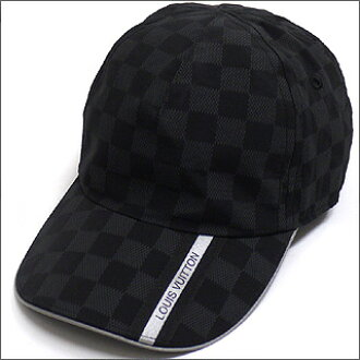 路易 · 威登 (Louis Vuitton) 桶健身房帽双色格子石墨 265-000071-011 x [☆ ★]