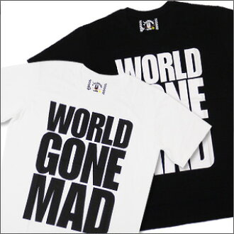 A BATHING APE (APE) WORLD GONE MAD T shirts 200-003199-041 +