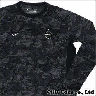 F.C.R.B.摄魂师日本伪装模式 DF 游戏长袖 T 恤黑 204-000013-041 x x