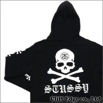 001070914532 Cliff Edge  STUSSY x mastermind JAPAN SS Link Skull Hoodie BLACK 211 ...