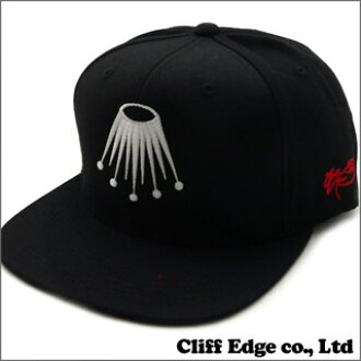 SSUR Lex Crown SNAPBACK[突然弹回盖子]BLACK 999-001368-011+