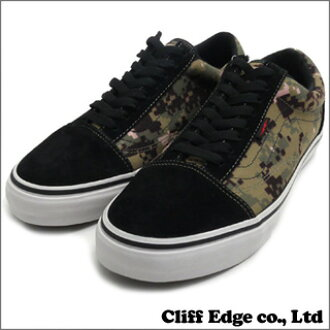 "VANS SYNDICATE x DEFCON OLD SKOOL PRO ""S"" (올드 스쿨)(스니커)(슈즈) OLIVE/BLACK 291-001399-285 x"