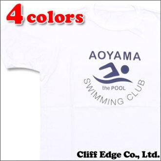 the POOL aoyama (ザプール Aoyama) SWIMMING CLUB TEE (T shirt) 200 - 006124 - 037x