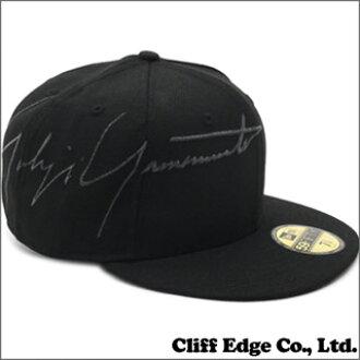 Yohji Yamamoto(牙签Yamamoto)x NEW ERA(新埃拉)SIGNATURE 59FIFTY CAP(新埃拉盖子)BLACK 250-000339-051x