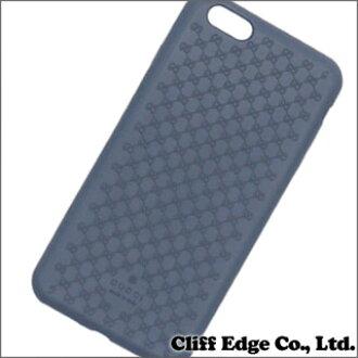 古奇 (Gucci) 生物塑料 iPhone6 加上案件 (塑料) (iPhone) 汽油蓝色 273-000070-017 x