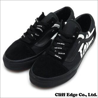 VANS (vans) x PATTA (PATA) 291-001948-271 BLACK OLD SKOOL (old school) (shoes) (sneakers) +