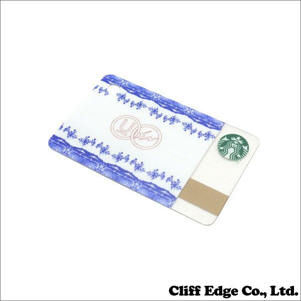 STARBUCKS(スターバックス) Fragment Design(フラグメントデザイン)UNDERCOVER (アンダーカバー) ミニスターバックス カード【新品】 セラミックパターン 290-003643-010+