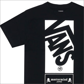 mastermind JAPAN x VANS OFF THE WALL S/S TEE (T shirt) + 200-007099-041 BLACK