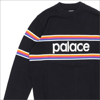 Palace Skateboards Multi Stripe Knit (knit) BLACK 420-000016-031+