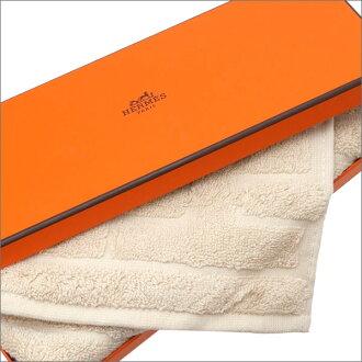 HERMES LABYRINTHE HAND TOWEL BEIGE 290-004343-036x