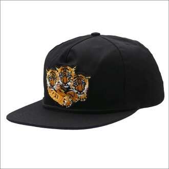 Bianca Chandon(比安卡Xandão)3 Tigers Hat(盖子)BLACK 420-000052-011x